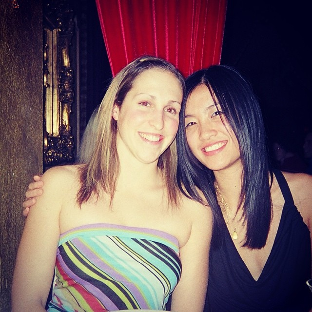 Happy birthday to one of most amazing, creative, and caring people I know! #TBT to #10yearsago when I surprised you on your birthday. @kiki_kim_ love you x #tinytubetop #toronto