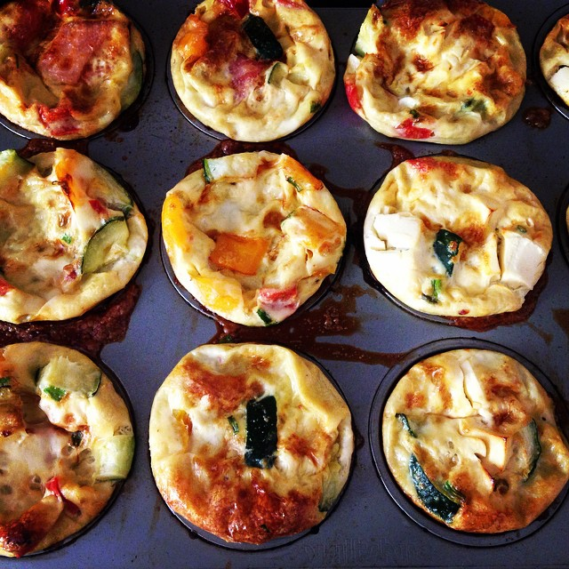 Making lunches, dinners & breakfasts at the same time! #eggmuffins #foodprep #bulkfood #paleo