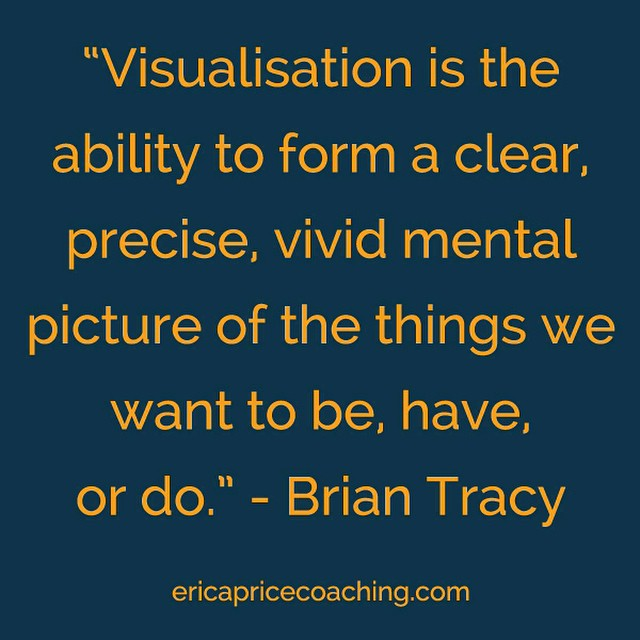 What does 2015 hold? Take time to visualise you achieving your goals for the year! #goalsmashing #2015 #356days #visualisation #visualization #visions #goals #briantracy #quotes