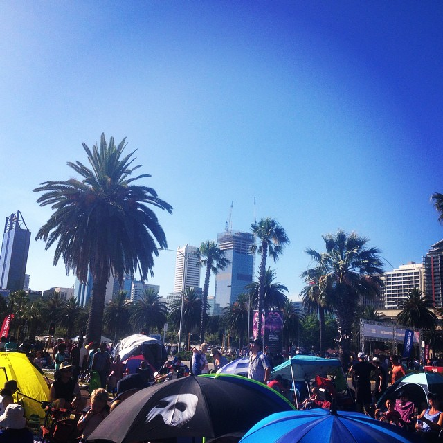 Happy Australia Day from the Perth foreshore. #perth #foreshore #australiaday #northforeshore #perthlife #ausday