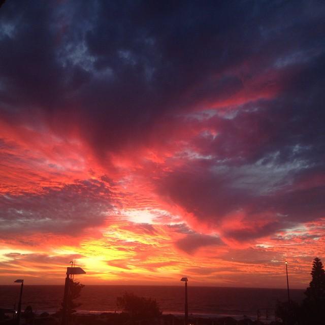Sunset art #perthsunset #sunset #nofilter #westoz #perth #perthlife